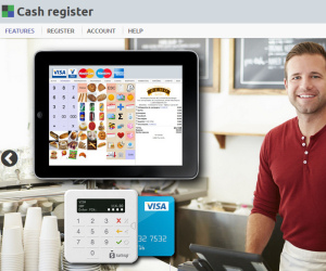 Cash register POS software